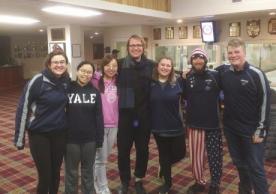 Yale Curling Fabian Schrey Xian Gu Cecelia Wang win